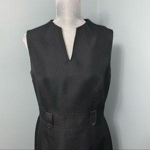 Tahari black sheath Dress size 10